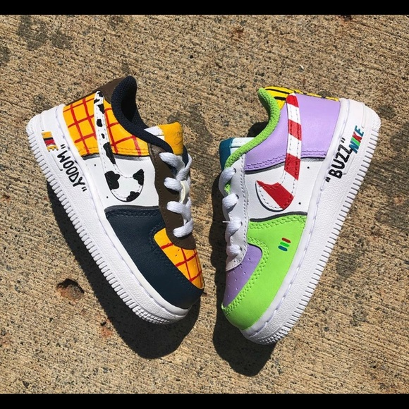 Nike Shoes | Custom Toy Story Air Force